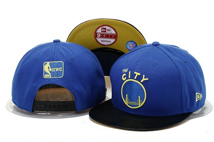 Golden State Warriors Snapback Hat YS B 140802 13